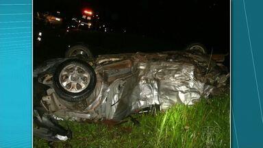Sete pessoas morrem em grave acidente na BR-277, em Palmeira - Dois eram estudantes de Guarapuava. O enterro tá marcado pra amanhã às oito da manhã.