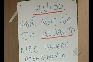 Unidade de saúde é assaltada no bairro da Condor - Assaltantes levaram materiais de exame.
