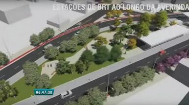 Avenida Aguanambi receberá obras de túnel e faixa para ônibus em 2015 - Previsão é de que as obras de requalificação estejam prontas em 2016. Avenida terá corredor exclusivo e estações para ônibus.
