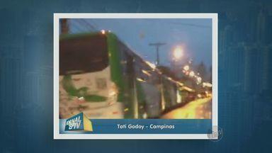 Ônibus da Linha Verde saem atrasados por falta de combustível em Campinas - Os ônibus da linha verde, da empresa VB Transportes, saíram atrasados da garagem nesta sexta-feira (15) por falta de combustível. A Avenida Governador teve fila de ônibus para abastecer.