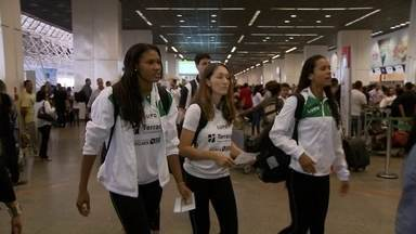 Time de vôlei do Brasília embarca para São Paulo para enfrentar o Sesi pela Superliga - Equipe está em sexto lugar e busca primeira vitória no ano.