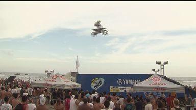 Competição de motocross freestyle acontece neste sábado (16) - O evento será em Bertioga, a partir das 20h.