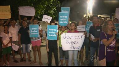 Parentes e amigos de Suênia, assassinada em João Pessoa, querem justiça - Parentes e amigos da jovem Suênia, assassinada na saída do trabalho em Mangabeira , querem justiça e segurança.