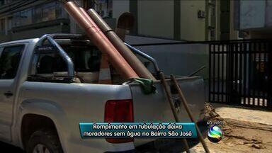 Abastecimento de água é interrompido em bairro de Aracaju - Abastecimento de água é interrompido em bairro de Aracaju.