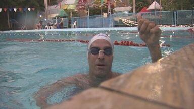 Paratleta do AM se prepara para a Copa Norte/Nordeste - Nadador Jean Dias completa 40 anos e traça novos objetivos para a carreira.
