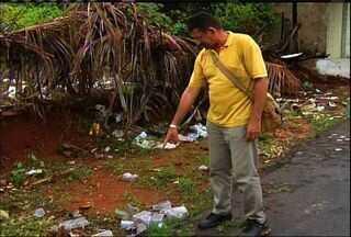 Bairros do Crato preocupam agentes que procuram focos do mosquito da dengue - Confira a reportagem de Paulo Ernesto Arrais.