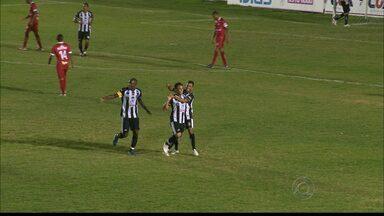 Treze vence o Potiguar por 3 a 0 em amistoso de preparação no PV - O time do Treze venceu o Potiguar ontem no estádio Presidente Vargas em Campina Grande com o placar de 3 a 0.