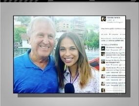 Jornalista de Nova Friburgo, RJ, que trocou nome de Zico por Zagalo explica a gafe - Postagem viralizou nas redes sociais.