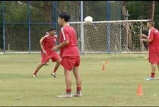 Funorte Júnior volta aos treinos para o Campeonato Mineiro - Time treina forte até mesmo com chuva.