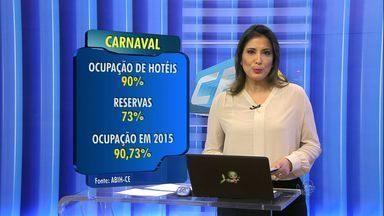 Hotéis de Fortaleza devem ter mais de 90% de ocupação durante as férias - Estimativa é da Secretaria do Turismo do Ceará.