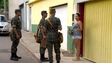 Exército auxilia combate a dengue em Guarapari, ES - A ideia é mostrar para a população a importância de se combater o mosquito.