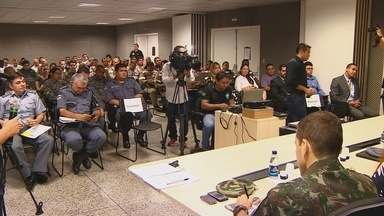 Planejamento de segurança para Olímipiadas em Manaus começa a ser discutido - Capital vai receber seis partidas de futebol durante evento esportivo.
