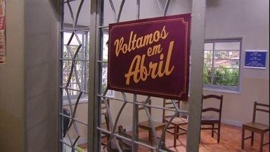 GRUPO DE APOIO – FIM - Zorra volta em abril!