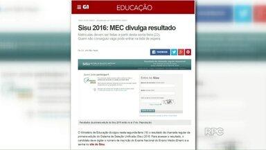 MEC divulga aprovados no Sisu - Sistema de Seleção Unificada garante uma vaga no ensino superior.