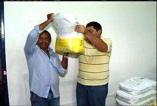 """Sementes do programa ˜Hora de Plantar"""" começam a ser distribuídas no Cariri - Confira a reportagem de Paulo Ernesto Arrais."""