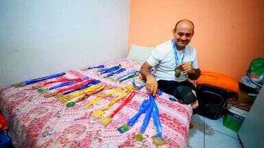 Vida Real mostra história de superação de atleta do Antônio Bezerra - Vida Real mostra histórias do cotidiano dos bairros de Fortaleza.