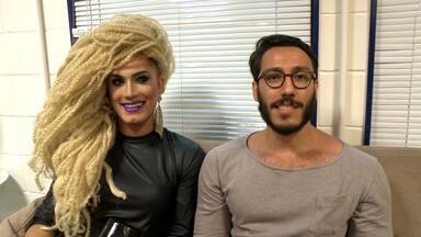 Bofe do Amor e Sexo, Gregory conta experiência de estar no programa como drag - Confira!