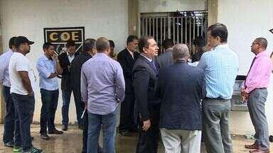 Delegacias são vistoriadas em Sergipe - Delegacias são vistoriadas em Sergipe.