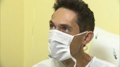 Homem recebe transplante de fígado no dia do aniversário - Jorge é morador de São Mateus do Sul e estava em Curitiba para participar de um encontro religioso.