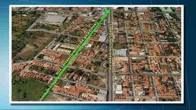 Avenida Washington Soares sofre mais uma intervenção a partir desta terça - Veja como ficam as mudanças no trânsito.