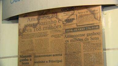 Apostador de Manaus ganha prêmio da Mega-Sena - Jogo saiu de loteria no bairro Praça 14, Zona Centro-Sul da capital amazonense.