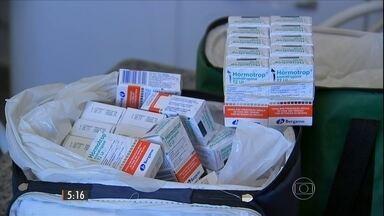 Polícia investiga desvio de remédio de alto custo de hospital de Sorocaba (SP) - Medicamento é usado no tratamento de crianças com dificuldade de crescimento e seria vendido como anabolizante.