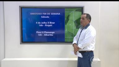 Times piauienses continuam sequência de amistosos para a temporada 2016 - Times piauienses continuam sequência de amistosos para a temporada 2016