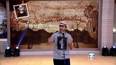 Poesia com Rapadura: Bráulio Bessa faz cordel em homenagem aos irmãos - Confira!