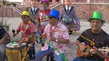 Banda do Jangadeiro se prepara para o carnaval 2016 - Banda mostrou um pouco do que pretende fazer no evento desse ano.