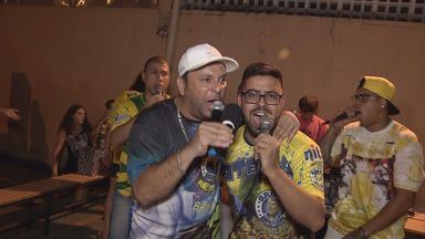Teatro é tema de enredo da escola de samba Brasil - Conheça a escola e os ensaios para o carnaval santista.