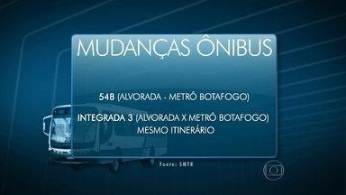 Mudanças nos ônibus - Prefeitura altera linhas na zona sul do Rio.