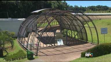 Espaço no Jardim Botânico será revitalizado - Prefeitura está fazendo a limpeza e vai reformar o Espaço Frans Krajcberg, ao lado da estufa do Jardim Botânico.
