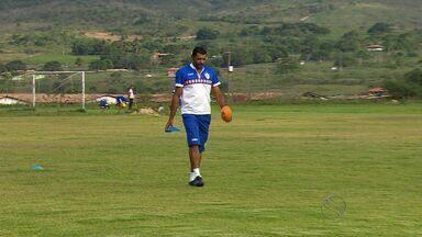 Nadélio Rocha se prepara para estreia oficial no comando do Itabaiana - Nadélio Rocha se prepara para estreia oficial no comando do Itabaiana