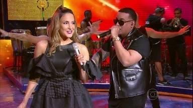 Claudia Leitte e Daddy Yankee cantam 'Corazón' - Cantora está investindo na carreira
