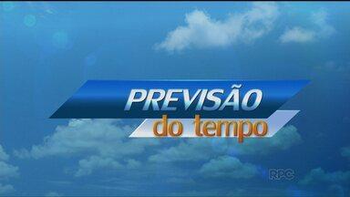 Confira a previsão do tempo para este domingo (24) - A previsão é de sol para todas as regiões do Paraná. Só deve chover a partir da segunda-feira (25).