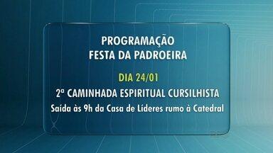 Começa amanhã a programação da festa da padroeira de Guarapuava - A programação vai até domingo que vem.