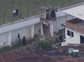 Explosão destrói parte de muro do Complexo do Curado e presos fogem - Até o momento não há informações do número de detentos foragidos.