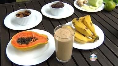 Nutricionista explica como aproveitar melhor os benefícios de sucos naturais - Os sucos feitos direto das frutas é muito mais nutritivo e pode ser opção para aquele lanche rápido no meio da tarde ou à noite.