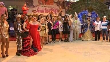 Milton Cunha brilha com festa na quadra da Unidos da Tijuca, no RJ - O charme dos antigos bailes à fantasia voltaram à cena na quarta-feira (27), Glam Gay. A festa foi na quadra da Unidos da Tijuca.