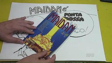Grupo é o único representante do Paraná em concurso de quadrinhos na França - Foram selecionados 29 trabalhos de todo o mundo