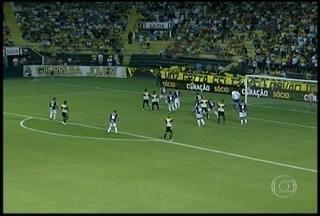 Em noite dos goleiros, Criciúma e Cruzeiro empatam na Sul-Minas-Ri - Empate de 1 a 1 no estádio Heriberto Hülse tem primeiro tempo empolgante,com participação de Luiz e Fábio para evitar mais gols na estreia oficial em 2016