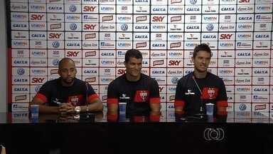Atlético-GO apresenta mais três reforços para o Goianão - William Schuster, Romário e Ednei são armas do clube para a temporada.