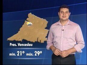 Saiba qual a previsão do tempo para esta sexta-feira - Quem tem as informações é o Tiago Rodrigues.