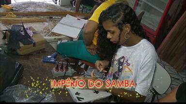 JPB2JP: Império do Samba aposta no 7 para conseguir o sétimo campeonato - Escola foi a campeã do ano passado.