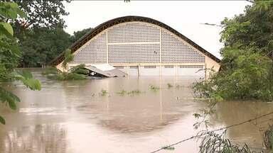 Chuva que durou toda a noite em Balsas causou estragos nas áreas ribeirinhas da cidade - Chuva que durou toda a noite em Balsas causou estragos nas áreas ribeirinhas da cidade.