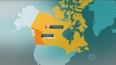 Avalanche no Canadá mata cinco pessoas - A avalanche foi na Colúmbia Britânica, no oeste do país. Seis sobreviventes foram resgatados.
