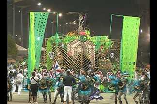Primeira noite de desfiles na Aldeia Cabana foi marcada por animação e criatividade - Blocos e escolas de samba levantaram o público na noite da última sexta-feira (29), em Belém.