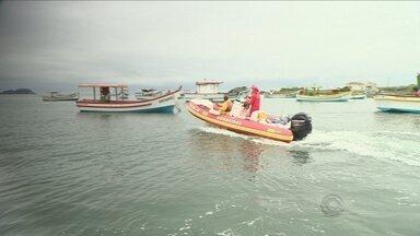 Continuam as buscas pelas vítimas da queda de avião monomotor em Florianópolis - Continuam as buscas pelas vítimas da queda de avião monomotor em Florianópolis