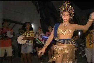 Corte do Samba se prepara para desfiles - Escola quer ser campeã