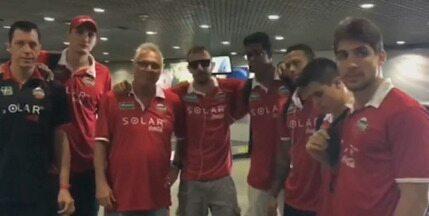 Basquete Cearense vence a sétima seguida no NBB - Veja vídeo que o time gravou para o Globo Esporte